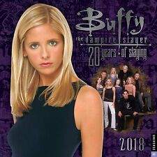 BUFFY THE VAMPIRE SLAYER - 2018 WALL CALENDAR - BRAND NEW - TV SHOW 333629