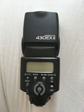 Canon Speedlite 430EX III-RT Flash for Camera. With Case and Stand