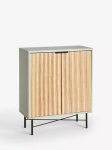 John Lewis & Partners Ridge Storage Cabinet, Grey£199.00