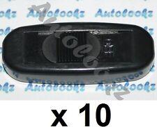 10 x 12V IN-LINE CABLE ON-OFF SLIDE SWITCH BLACK light lamp caravan inline strip