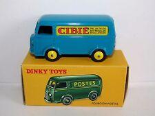 Atlas Dinky PEUGEOT D3A Van CIBIE modèle 25BV Van