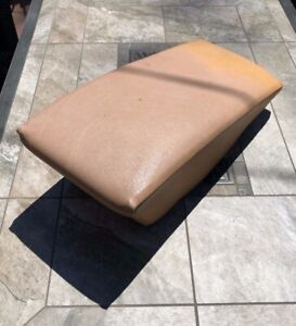Mercedes-Benz W123 300CD 280CE Coupe Rear Seat Center Console Cushion Palomino