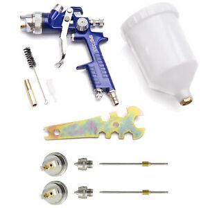 HVLP Lackierpistole Spritzpistole Spraypistole 1,3mm 1,4mm 1,7mm 2,0mm Düsen