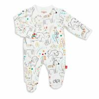 Magnetic Me Pop Jungle Organic Cotton Magnetic Footie