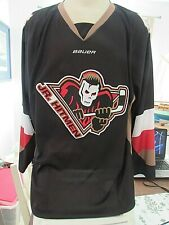 Junior Hitmen (Calgary) Jersey (Size XL) made by Bauer