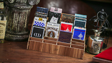40 Deck Wooden Playing Card Display