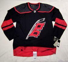 CAROLINA HURRIANES size 60 = 3XL - 3rd Style ADIDAS NHL HOCKEY JERSEY Authentic