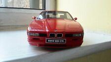 1/18 Otto BMW 850 CSI en rojo ot158