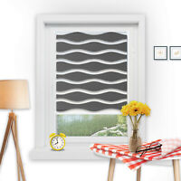 Doppelrollo ohne Bohren Welle Duo Rollo klemmfix Fensterrollo Seitenzugrollo