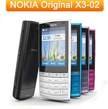 Nokia X3-02 Touch and Type - Black&White&Rose (Unlocked) Cellular Phone GSM WIFI