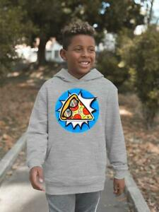Comic Style Pizza Hoodie -Image by Shutterstock