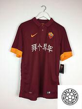 ROMA TOTTI #10 * capodanno cinese * BNWT 14/15 Calcio Casa Maglietta (L) in jersey