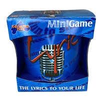 Lyric Mini Game - Drumond Park - 12+ - The Lyrics To Your Life