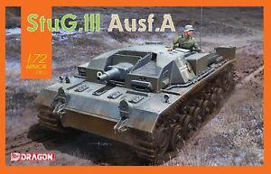 Dragon 7557 1/72 Plastic WWII German StuG.III Ausf.A Assault Gun