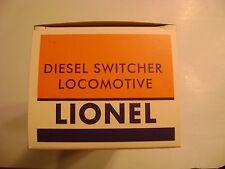 Lionel 600 Series Diesel Switcher Locomotive Licensed Lionel Reproduction Box