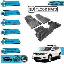 3D Molded Interior Car Floor Mat for Nissan Rouge 2014-UP (Black)