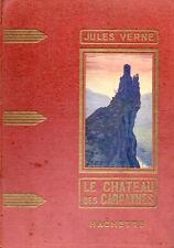 LE CHATEAU DES CARPATHES - JULES VERNE - HACHETTE 1933