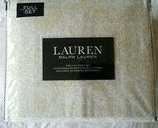 Ralph Lauren FULL Golden Yellow Fall Plants 4pc XDP Bed Sheet Set