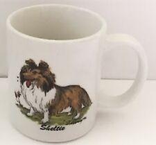 Sheltie Coffee Mug Vintage Cup McCartney Krazy K9 Designs Dog Canine Rosalinde
