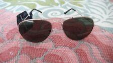 New LUCKY BRAND CAT 3 unisex Sunglasses GOLD/black