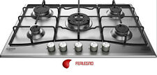 COOKTOP 75CM STAINLESS 5 BURNERS CONTROL FRONT PCN752TIX ARISTON