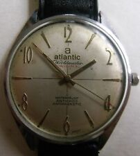 "VINTAGE ""ATLANTIC""-SWISS WRIST WATCH MEN,S"