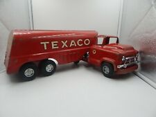 Buddy L Texaco Tanker Pressed Steel Vintage Toy Truck