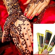 Natural Body Art Temporary Kit Tattoo Herbal Henna Cones Paint Mehandi Ink UK