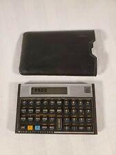 HP Hewlett Packard 11C Vintage Scientific Programmable Calculator w/ Case USA