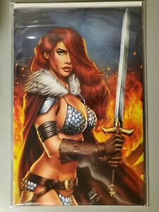 RED SONJA #2 VIRGIN VARIANT LIMITED EDITION - Art by RYAN KINCAID NM