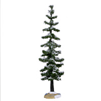 Lemax 2016 Blue Spruce Tree Large Winter village Picturesque Landscaping #64112