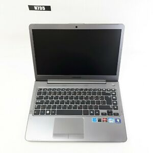 """SAMSUNG NP530U4B 14"""" LAPTOP i5-2467M 6GB NO HDD FOR PARTS AS IS H735"""