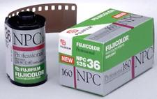 Fuji Fujicolor NPC 160 Pro 35mm Film 135-36 Color C-41