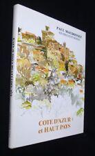 Côte d'Azur et Haut Pays, carnet d'un amateur