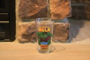 NEW MARVEL THE HULK GLASS  16 OZ PINT GLASS FROM MARVEL COMIC GROUP