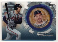 FREDDIE FREEMAN 2020 TOPPS UPDATE COMMEMORATIVE COIN #TBC-FF ATLANTA BRAVES