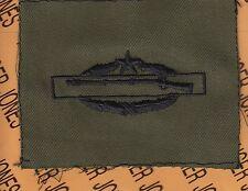 US Army CIB Combat Infantrymans Badge 2nd Award OD Green & Black cloth patch