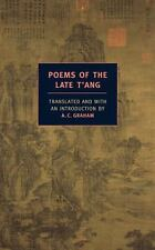 Poems of the Late T'ang-ExLibrary