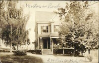 Hyde Park MA 236 River St. Home c1910 Real Photo Postcard