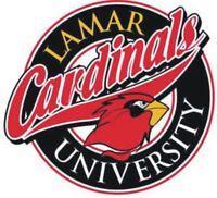 Lamar Cardinals NCAA College Vinyl Sticker Decal Car Window Wall