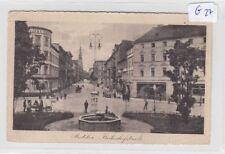 1324, Ratibor Bahnhofstrasse belebt gelaufen FP 1915 !