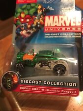 Maisto 2010 Marvel Universe Green Goblin Character Car NOC-Die-Cast