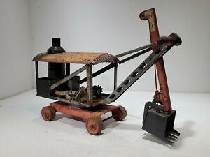 Vintage Keystone Ride 'Em Steam Shovel Boston MA Pressed Steel Construction