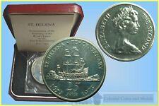 Saint Helena - 25 Pence 1973 Silver Proof
