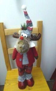Weihnachten Deko  Figur Elch Mann