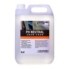 Valet Pro pH Neutral Snow Foam - 5 Litre, Valeting, Detailing