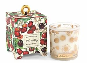Michel Design Works Gift Boxed Soy Wax Candle, 6.5-Ounce, Black Cherry