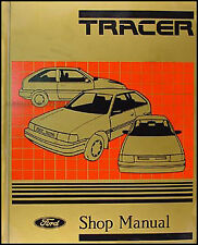 1987-1988 Mercury Tracer Shop Manual 88 Original Repair Service Book