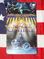 NEW Cirque du Soliel: La Magie Continue (VHS, 2001) Rare Video Brand NEW/SEALED