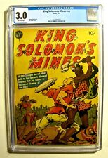 King Solomon's Mines #nn (Avon 1951) CGC 3.0 Off-White pages Lee Ames cover